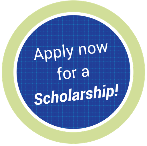 Apply now for a scholarship!